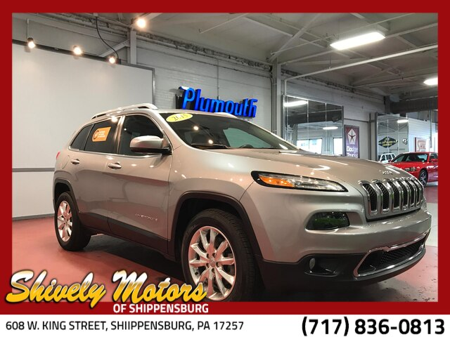 Certified Pre-Owned 2015 Jeep Cherokee Limited