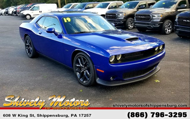 New 2019 Dodge Challenger R T Coupe In Shippensburg Kh506573