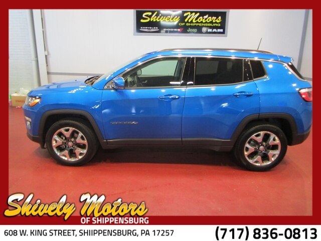 Certified Pre-Owned 2017 Jeep New Compass Limited