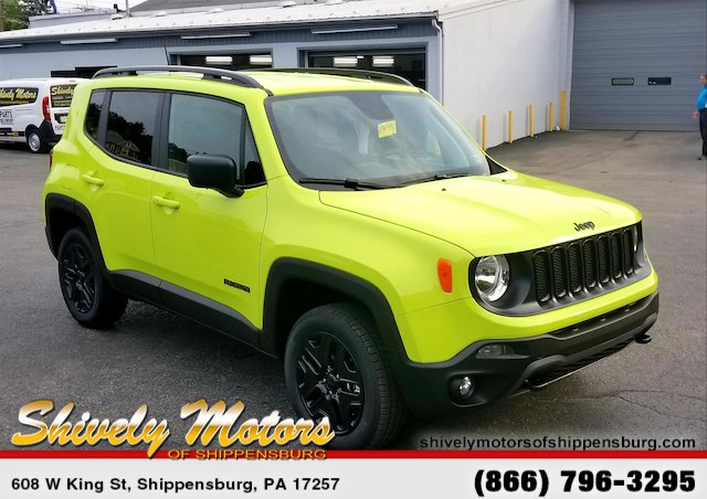 New 2018 JEEP Renegade Upland Edition