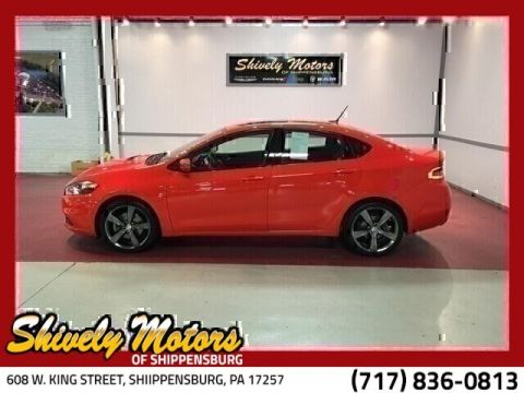 Certified Pre-Owned 2016 Dodge Dart Limited/GT